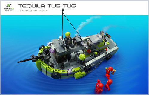 Tequila Tug Tug - D.A.2 Support ship
