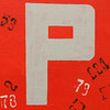 letter P by Leo Reynolds