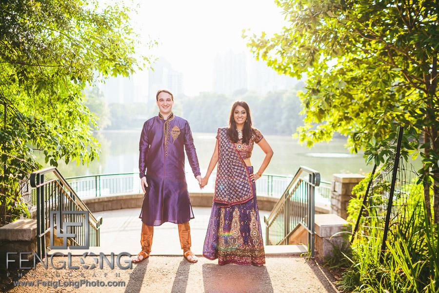 Rachana & Matt | Atlanta Engagement | Atlanta Fusion Indian Wedding Photography