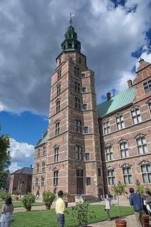 Image of Rosenborg Castle. castle copenhagen rosenborg