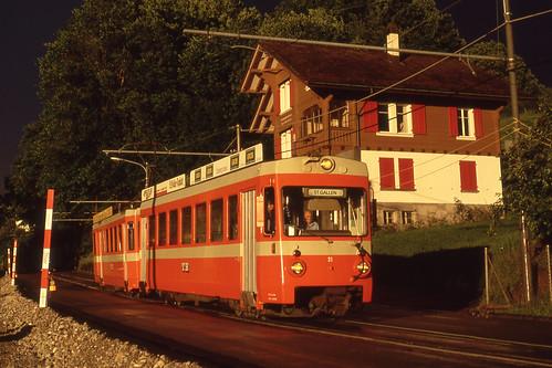 St. Gallen Birnbäumen. 14.07.90.