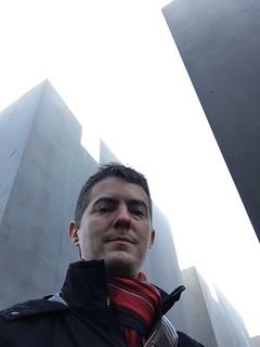 Image of  Memorial to the Murdered Jews of Europe  near  Tiergarten. berlin germany olivierbruchez holocaustmemorial holocaustmahnmal