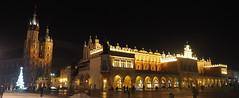 Królewskie-Miasto-Kraków w-nocy Night-Shot nocne-zdjęcie