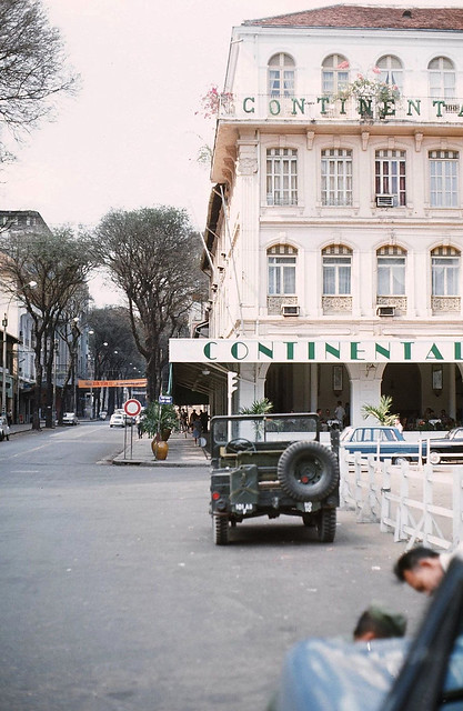 SAIGON 1967-68 - The Continental Palace - Photo by Peter Stevens