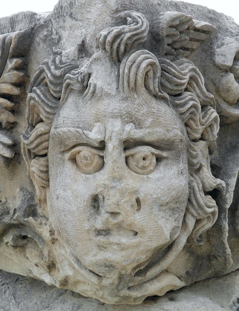 Carved Medusa, from the Theatre, Myra