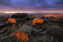 First Light at the Druid's Seat
