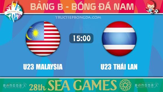 U23 Malaysia vs U23 Thái Lan