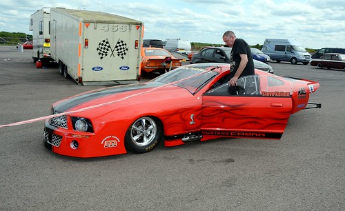 Twin procharged Mustang