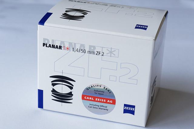 ZEISS Planar T* 1.4/50 ZF.2