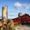 Summer in #vermont never gets old  #fromwhereiride #barn #silo