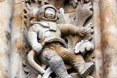 The Salamanca Astronaut, New Cathedral, Salamanca, Spain