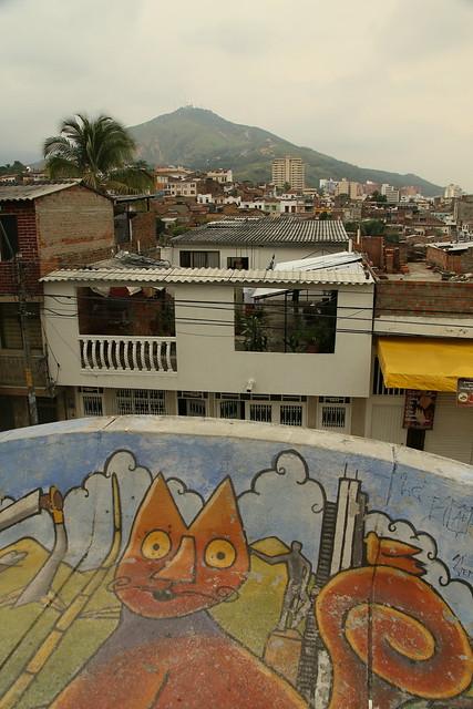 Parque Artesinals Loma de la Cruz.  Cali Colombia.