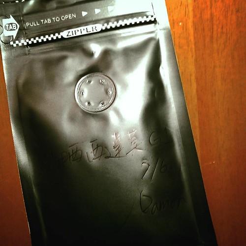 20150709 老戴的有緣人  #老戴咖啡豆