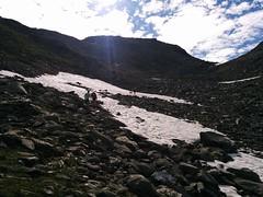 Aufstieg Bärenluegscharte