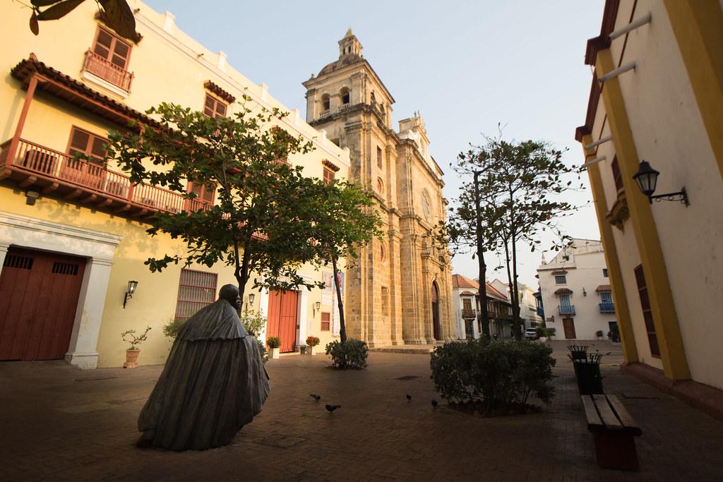 patsas, Cartagena, Kolumbia
