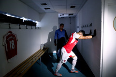 Premier League behind the scenes Alex Oxlade-Chamberlain 8