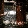 There's something hypnotic about #water. #aqua city# by #PeterDurst (2002) #avenueoftheamericas #manhattan #art #watersculpture #inNYC #mynewyork #midtown #fountain #onmywayhome
