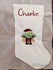 In Progress Stocking Charlie