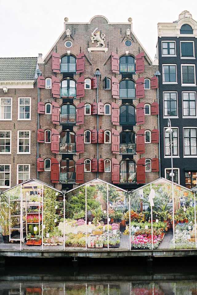 Mercado de las flores, Amsterdam
