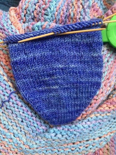 Crazy Knit Lady Sock