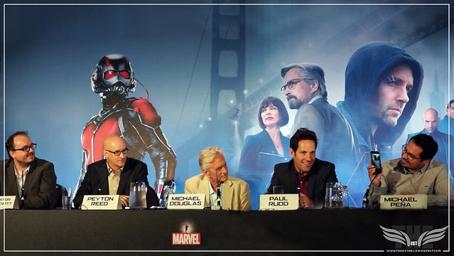 Ant-Man European Press Conference - July 2015