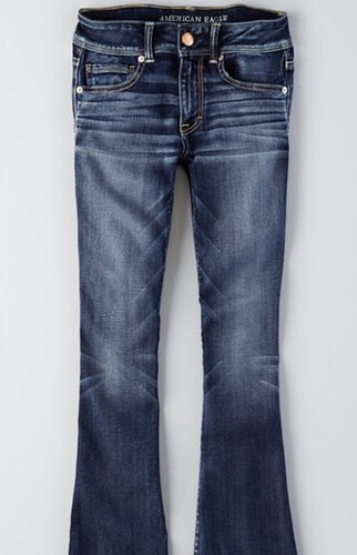 AEO Denim X Kick Boot Jean