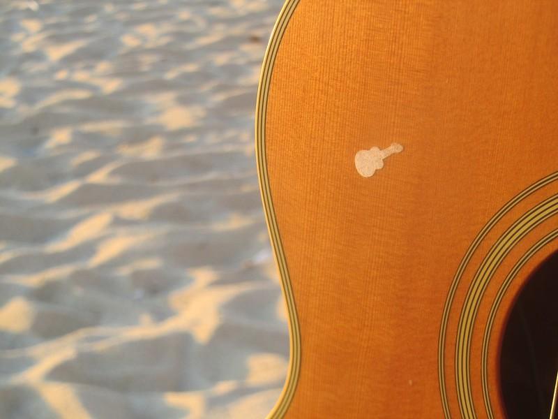 Guitarra de playa