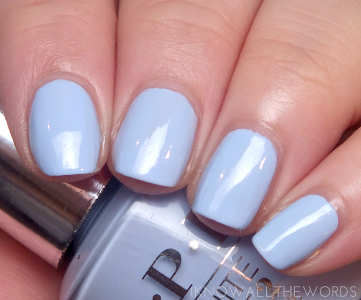 OPI infinite shine summer 2015 to be continued...