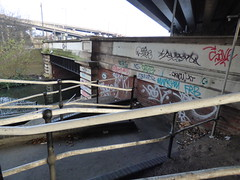 Tame Valley Canal under Spaghetti Junction - Salford Bridge