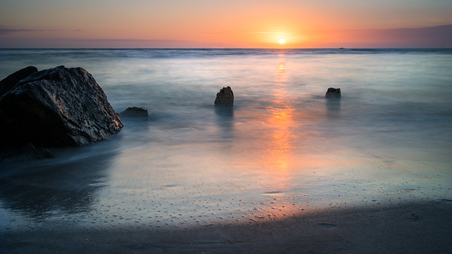 Madeira beach at sunset - Florida, United States - Seascape photography