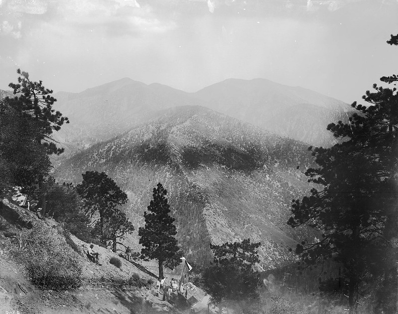 East fork history, Big Horn Mine, Mount Baldy