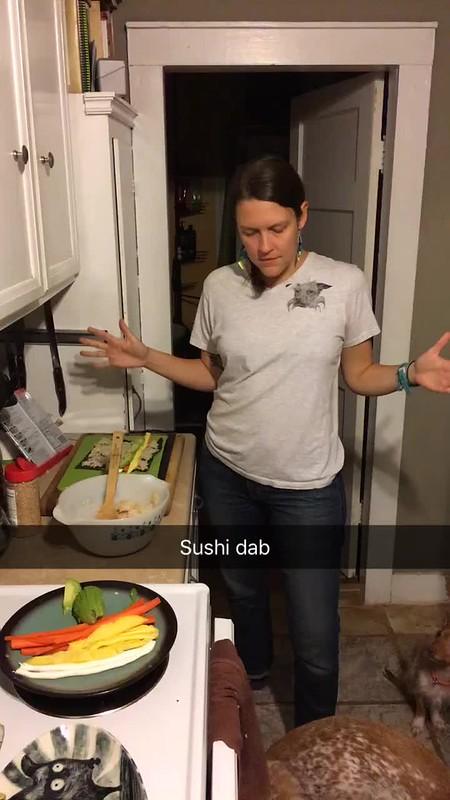 Sushi dab