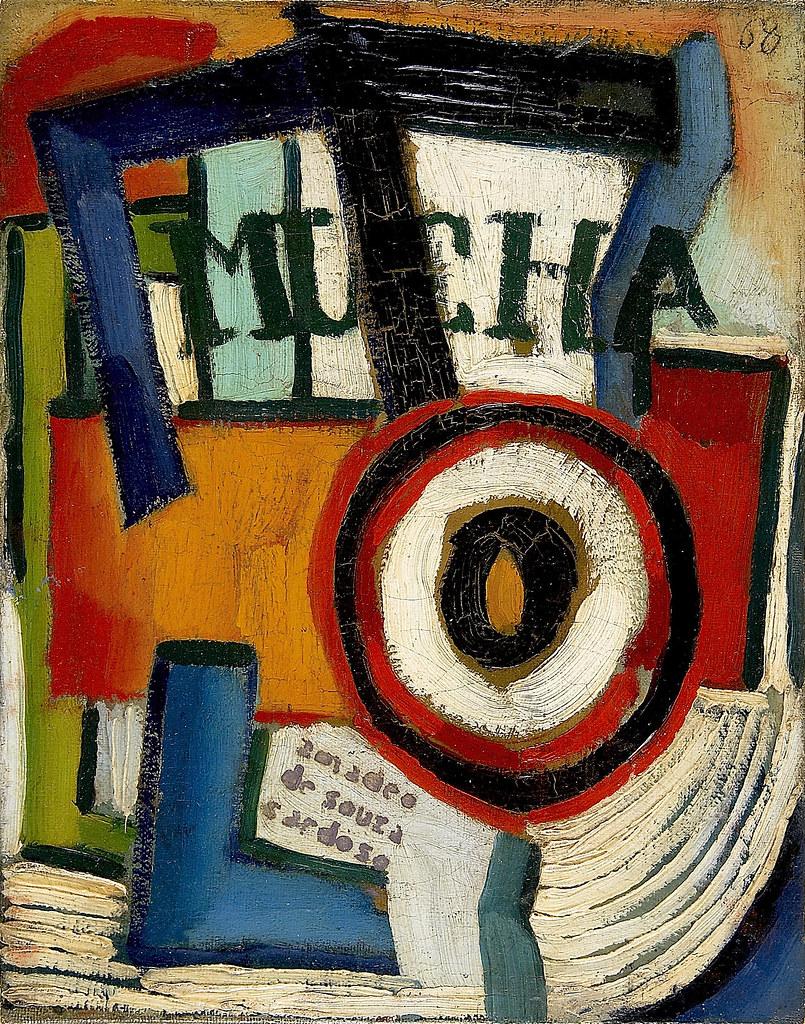 21.- Mucha, 1915-1916.óleo sobre tela. Coleção Museu Caloustre gulbenkian