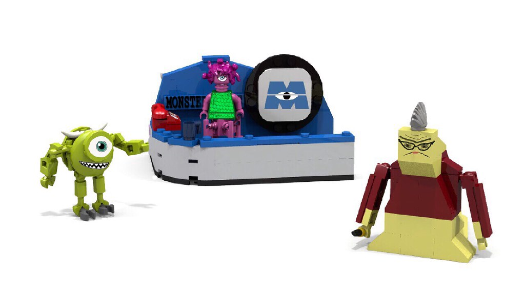 lego monsters inc scarefloor playset review - Lego Monstre