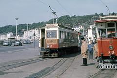IM Isle of Man - Manx Electric Railway - MER 5, 32 Douglas-Derby Castle Terminus - May 1971