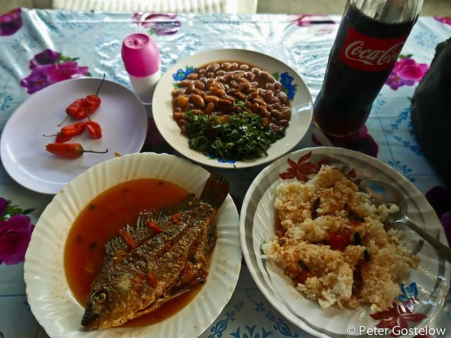 Lunch in Mbita