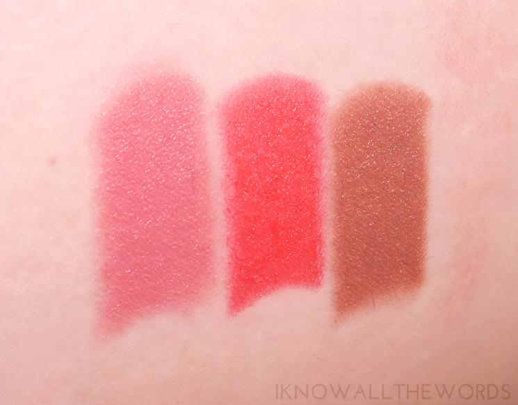 Lise Watier Rivages Collection Summer 2015 Rouge Subllime in Amour, Eclectique, and Ginger (2)