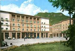 postcard - bolzano - piazza vittoria - 1968