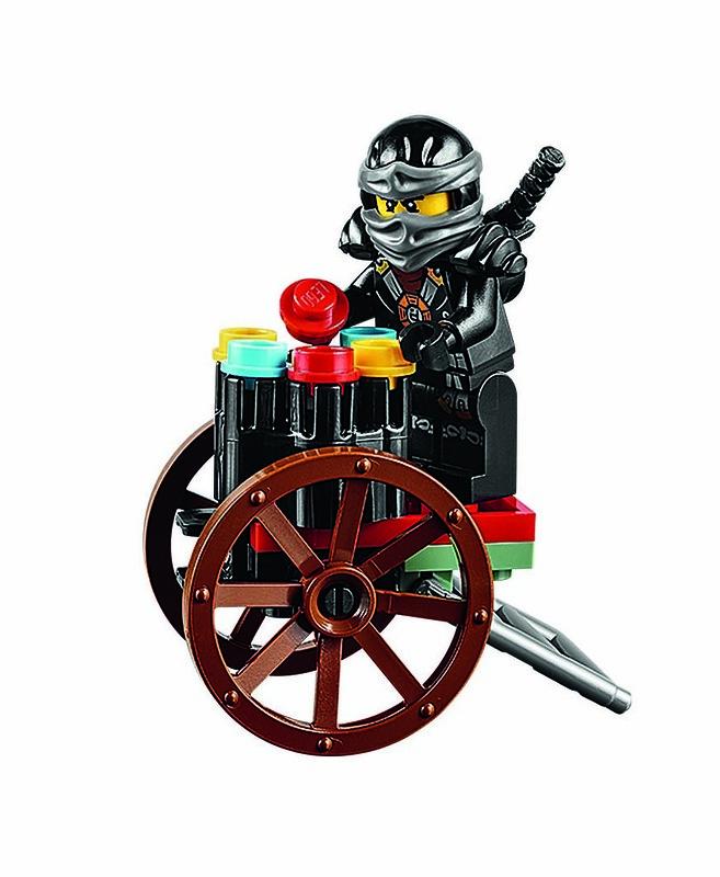 LEGO Ninjago 70751 - Mini on cart