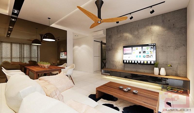Hdb bto 4 room scandustrial at blk 92 skyterrace dawson for Hdb household shelter design