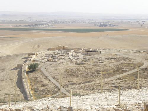 archaeology cities negev arad canaanite 2011 earlybronzeage telarad ianwscott israeltour2011