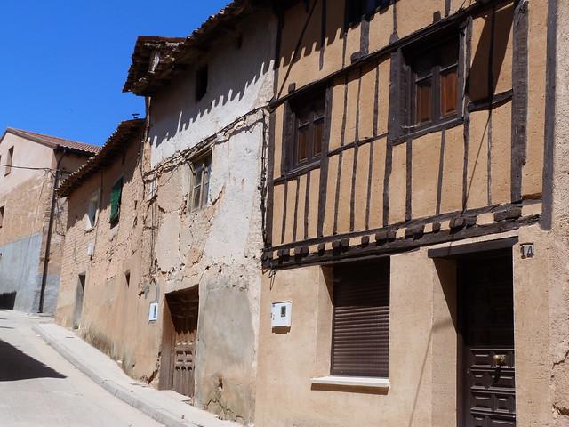 Casas típicas de Berlanga de Duero (Soria)