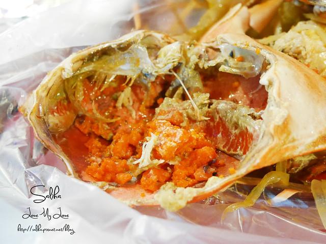 基隆夜市小吃美食奶油螃蟹