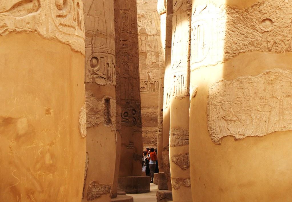 Karnak Baths North Of The First Pylon Greek Bath Egypt