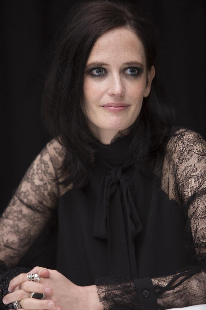Ева Грин — Пресс-конференция «Мисс Перегрин» 2016 – 51