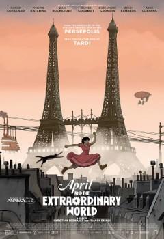 Assistir Abril e o Mundo Extraordinário Dublado
