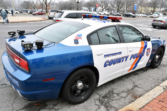 Picture Of Westchester County Police Car # 9086 - 2011 Dodge Charger. Photo Taken Sunday January 22, 2017
