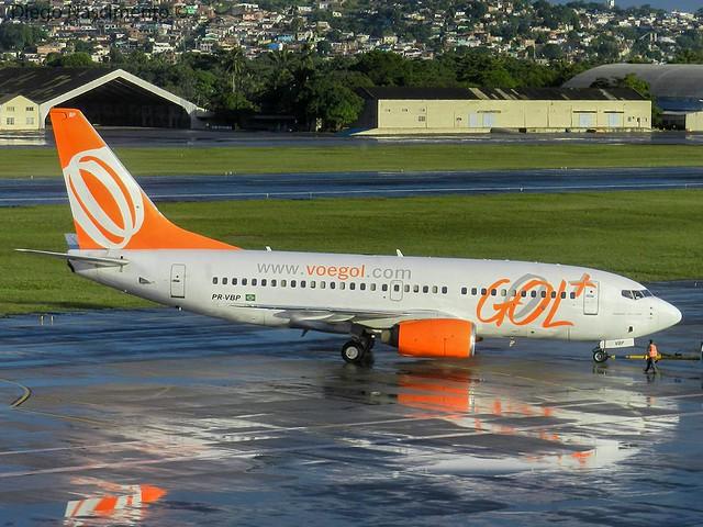 PR-VBP GOL Transportes Aéreos Boeing 737-700 - cn 32407 / ln 904