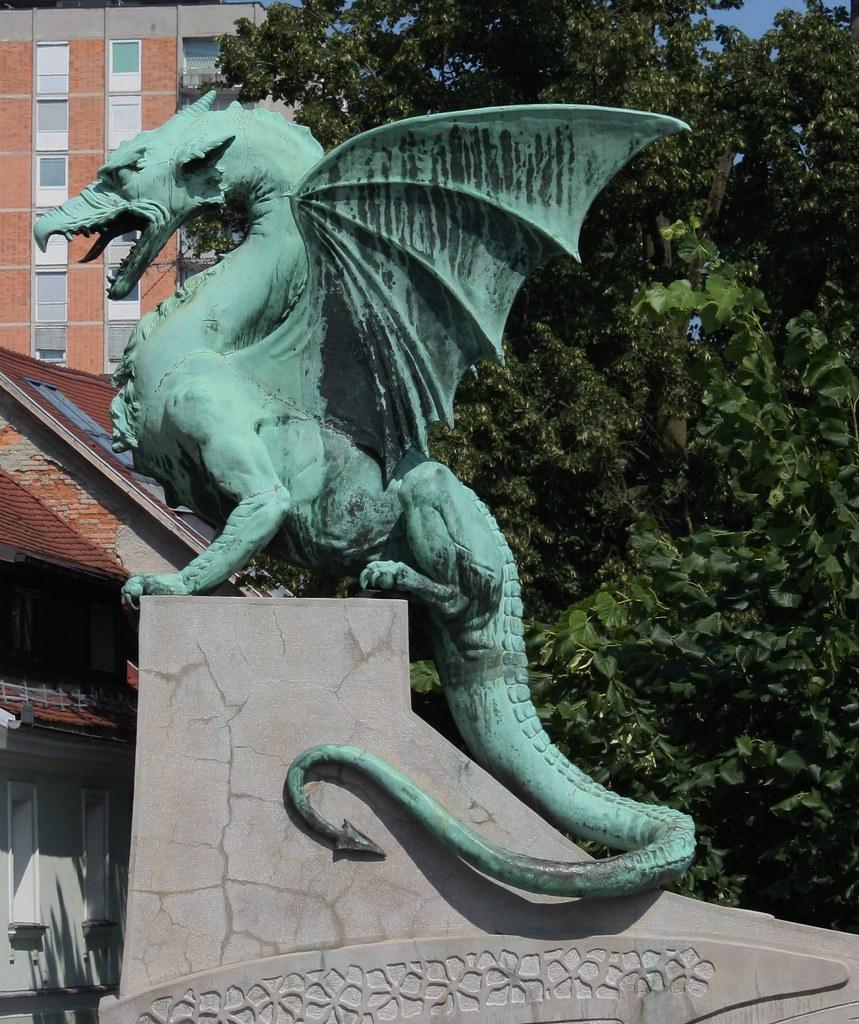 Ljubljana Slovenia Dragon