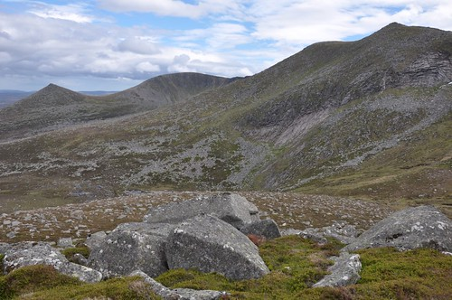 Lochnagar (with Meikle Pap left)